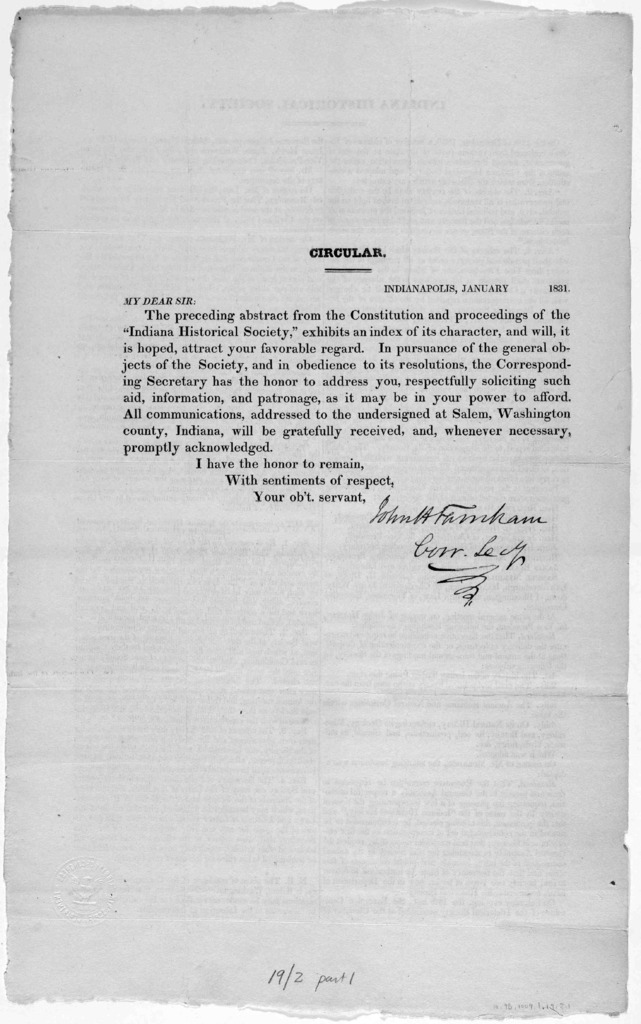 An abstract from the Constitution and proceedings of the