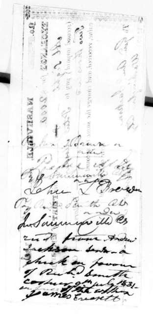Andrew Jackson, Jr. to Peter Mosley, June 21, 1831