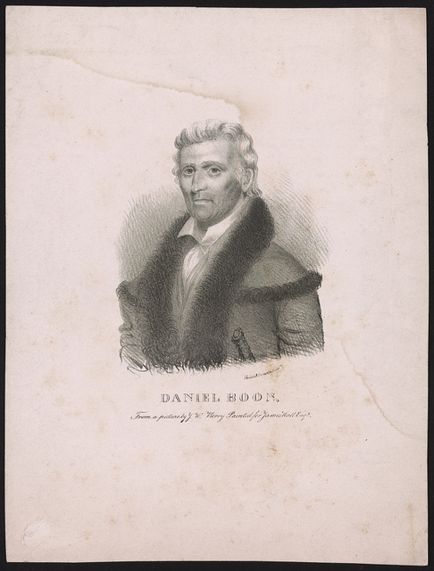 Daniel Boon [sic] from a picture by J.W. Berry painted for James Hall Esqr. / Childs & Inman lithrs.