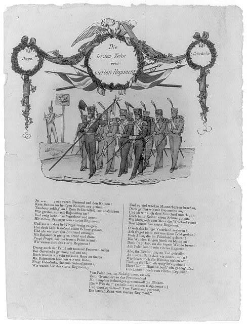 Die Letzten Zehn vom vierten Regiment