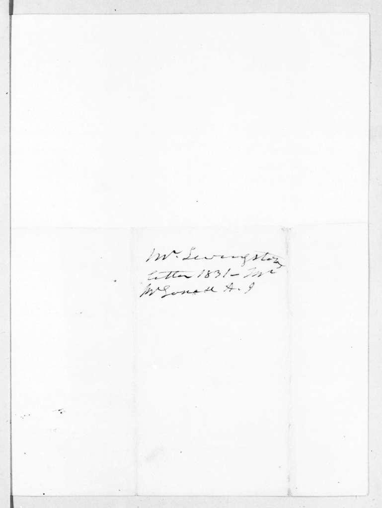Edward Livingston to Andrew Jackson, June 30, 1831