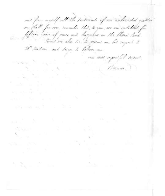 General Bernard to James Madison, July 12, 1831.