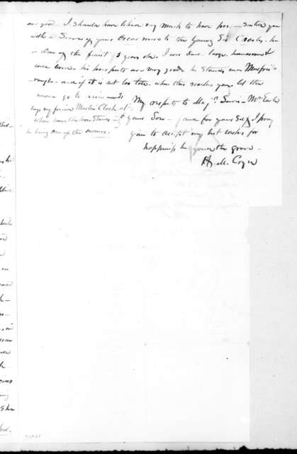 Hardy Murfree Cryer to Andrew Jackson, April 3, 1831
