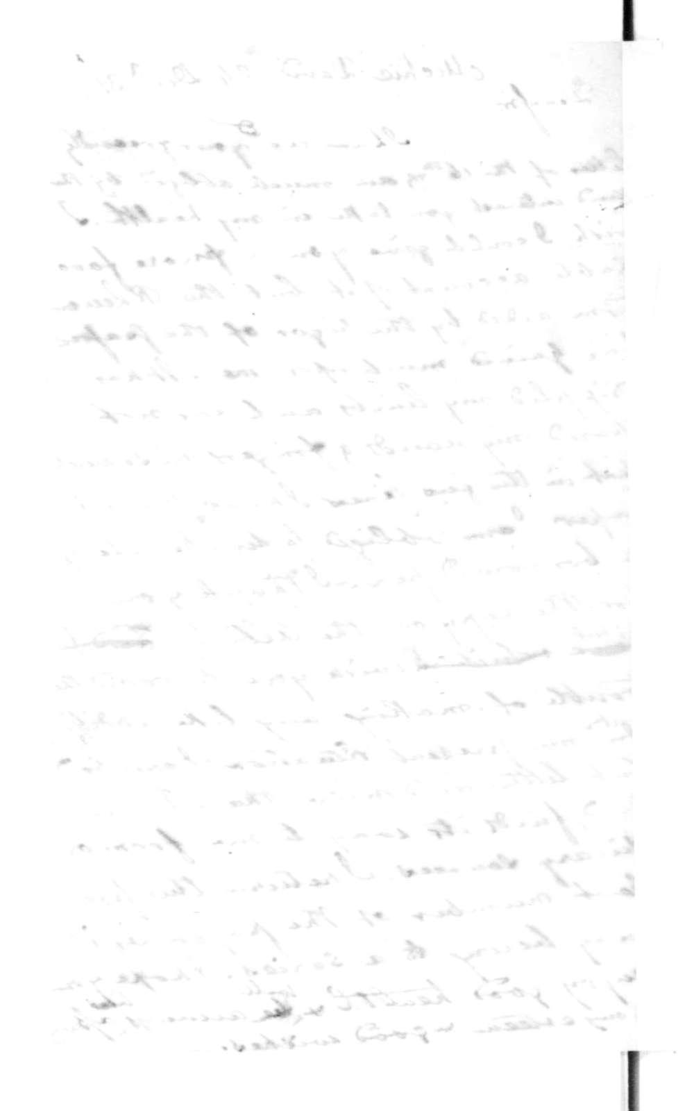 James Madison to David Michie, December 24, 1831.