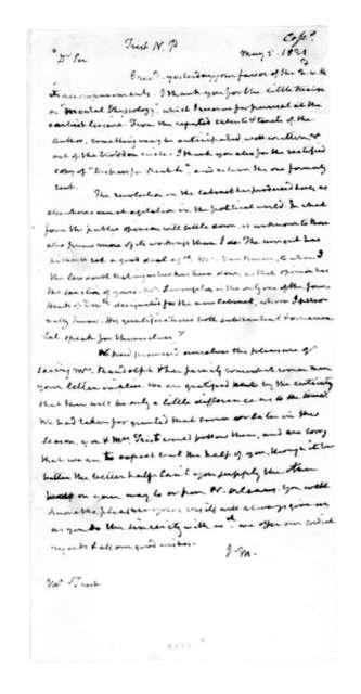 James Madison to Nicholas P. Trist, May 5, 1831.
