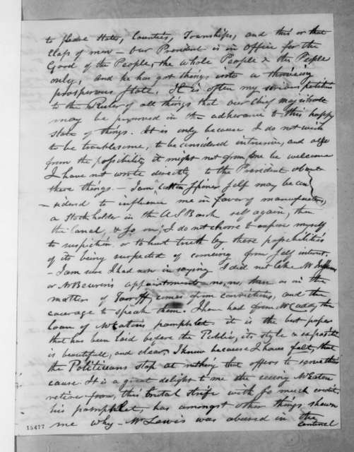 James Ronaldson to William Berkeley Lewis, September 30, 1831
