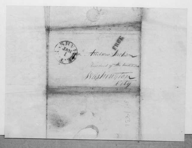 Josiah Nichol to Andrew Jackson, December 30, 1831