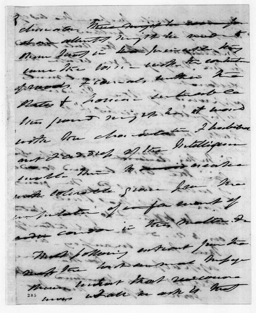 Martin Van Buren, May 21, 1831