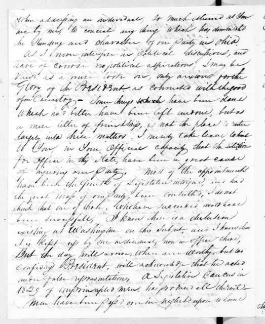 William D. Jones to Edward Livingston, June 28, 1831