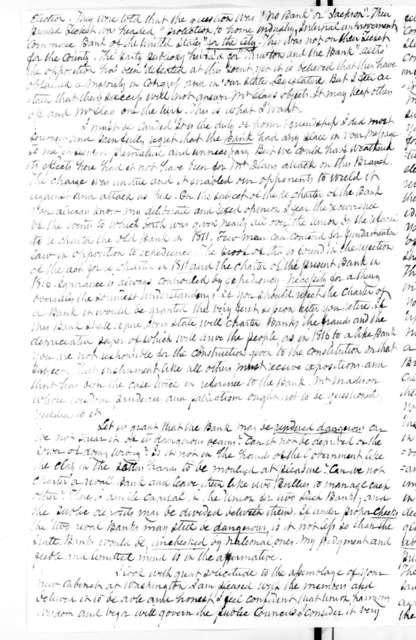 Worden Pope to Andrew Jackson, August 6, 1831