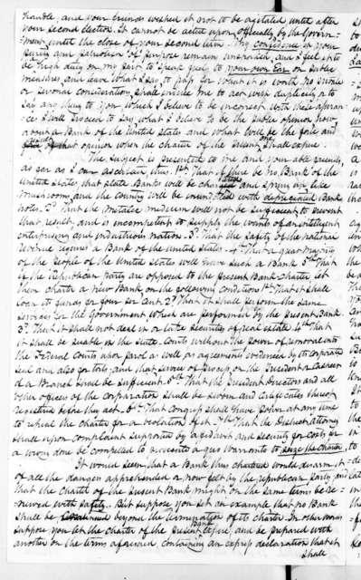 Worden Pope to Andrew Jackson, June 19, 1831