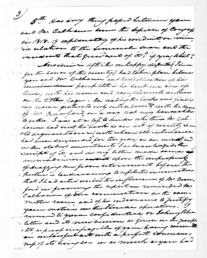 Abner Lacock to Andrew Jackson, June 25, 1832