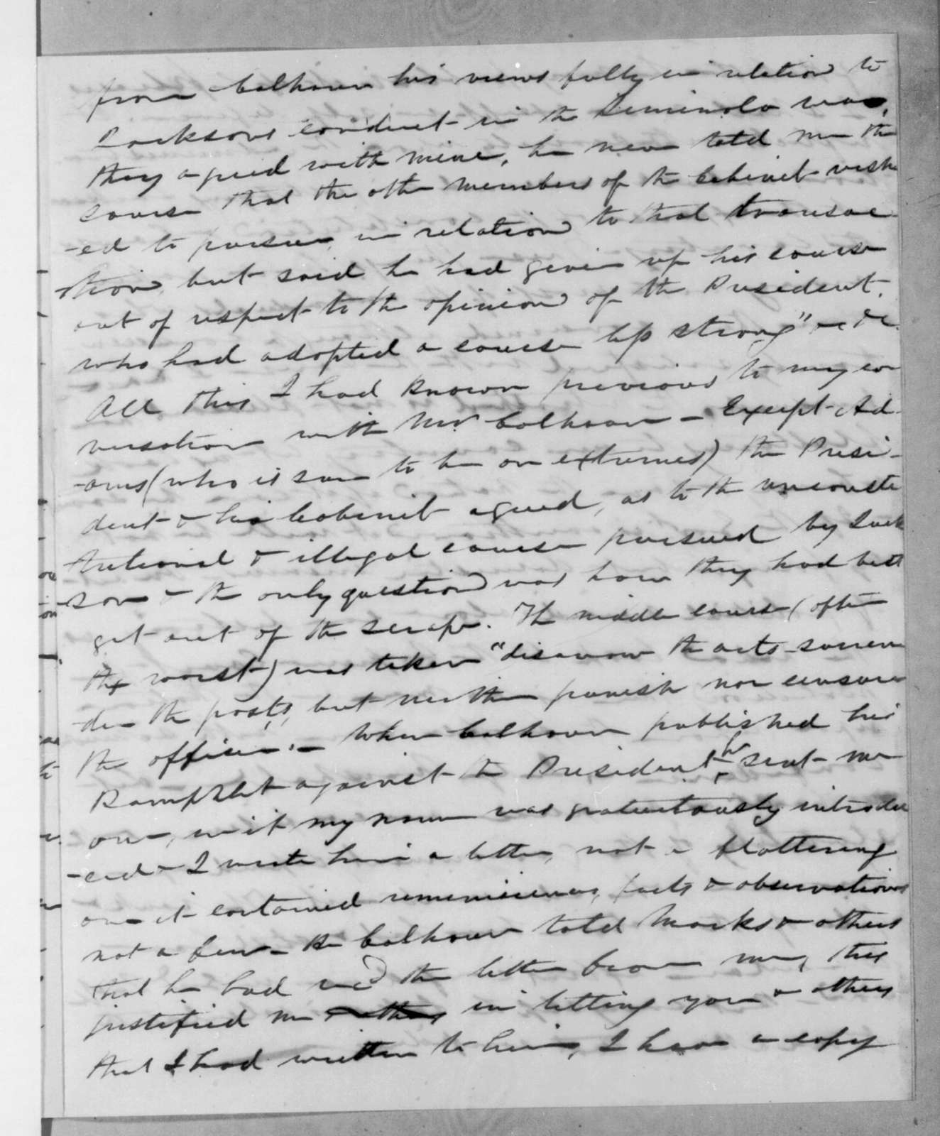 Abner Lacock to Henry Baldwin, February 18, 1832