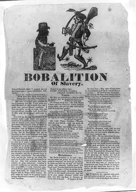 Bobalition of slavery