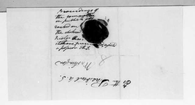 Clement Comer Clay to Andrew Jackson, February 27, 1832
