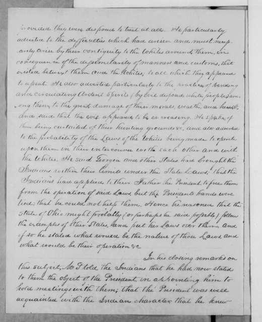 David Robb to Hugh Lawson White, January 31, 1832