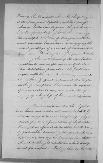 Ethan A. Brown to Andrew Jackson, January 1, 1832