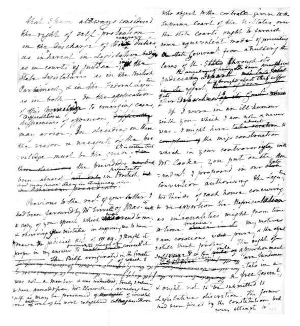 James Madison to Philip Doddridge, June 6, 1832.