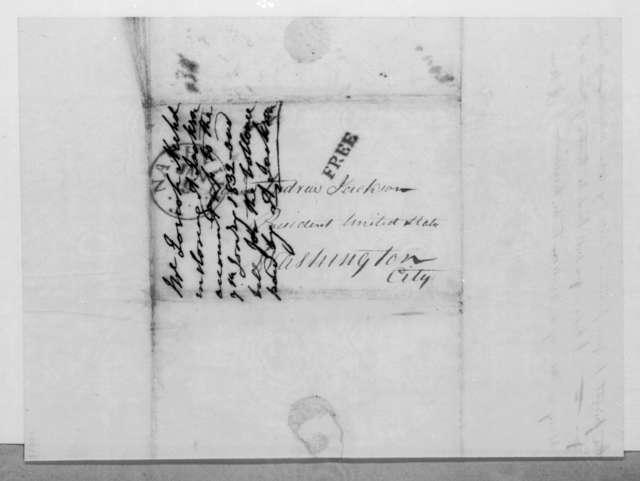 Josiah Nichol to Andrew Jackson, January 7, 1832