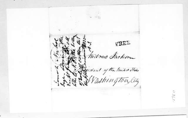 Josiah Nichol to Andrew Jackson, June 21, 1832