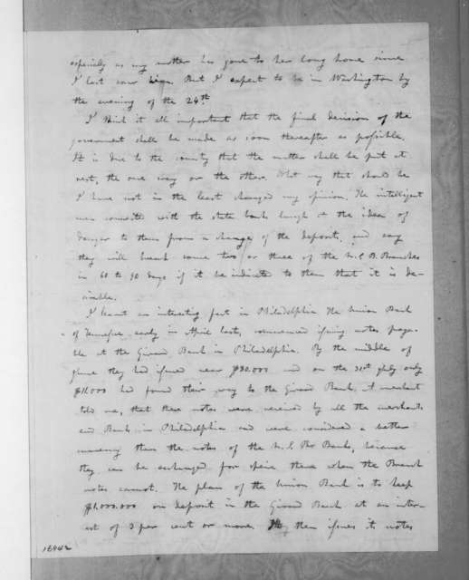 Amos Kendall to Andrew Jackson, August 11, 1833
