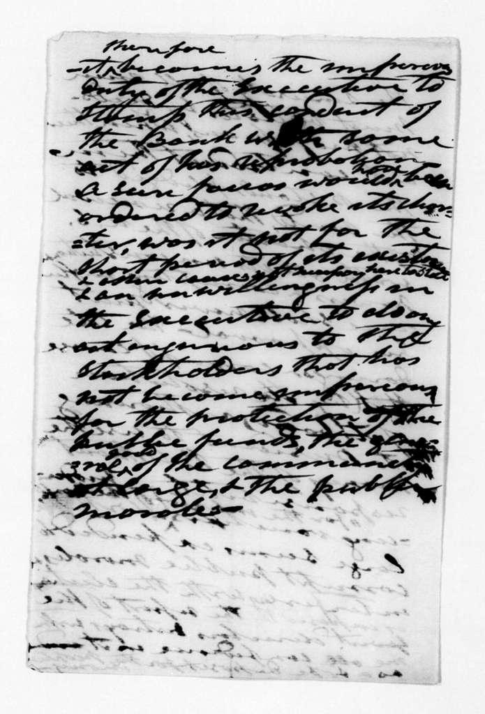 Andrew Jackson, December 3, 1833