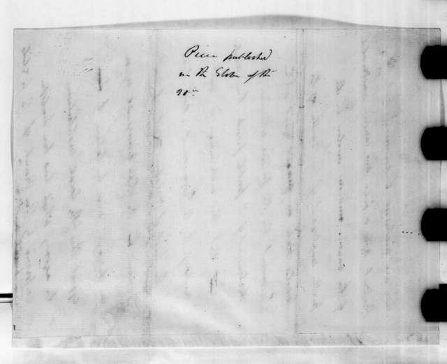 Andrew Jackson Donelson, September 20, 1833