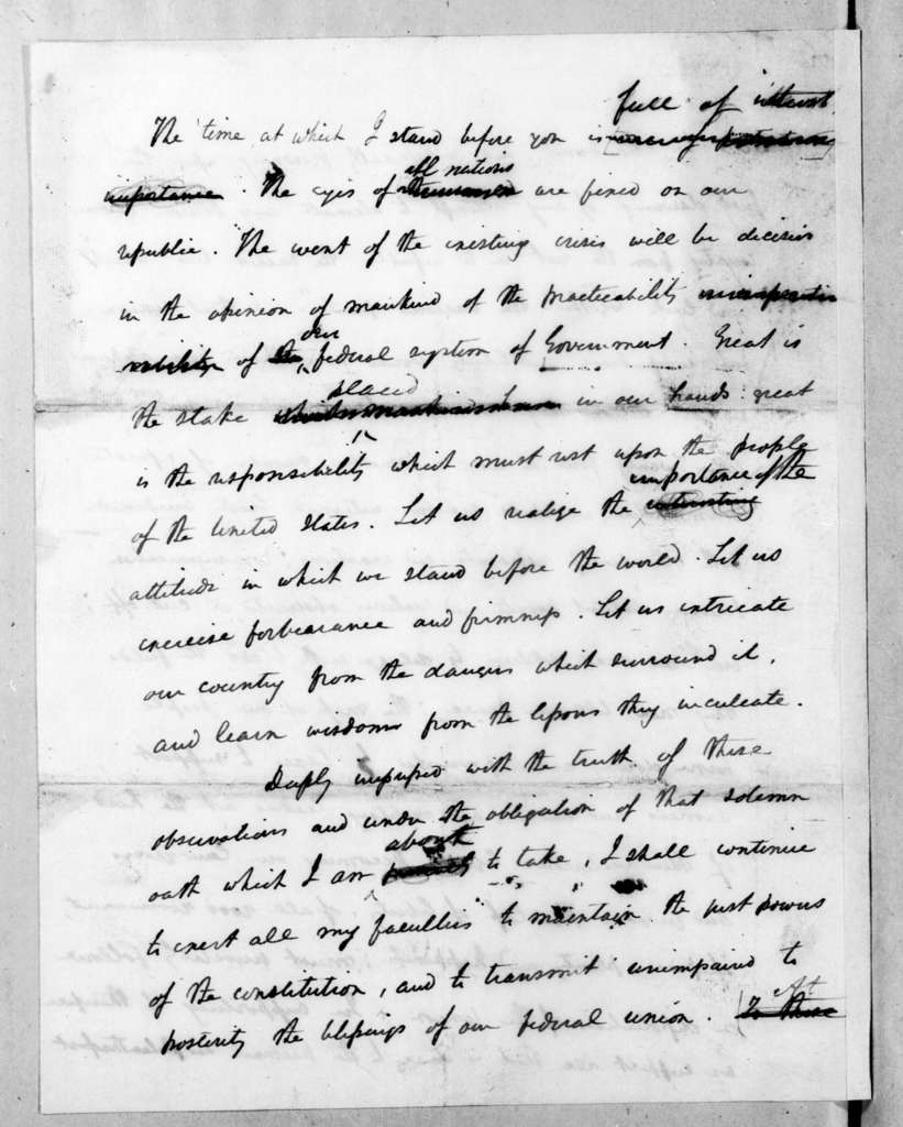Andrew Jackson, March 4, 1833