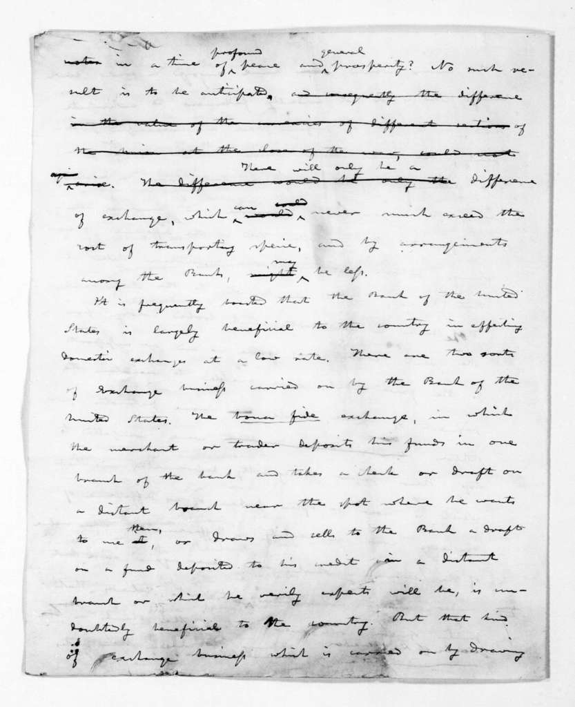 Andrew Jackson, September 18, 1833