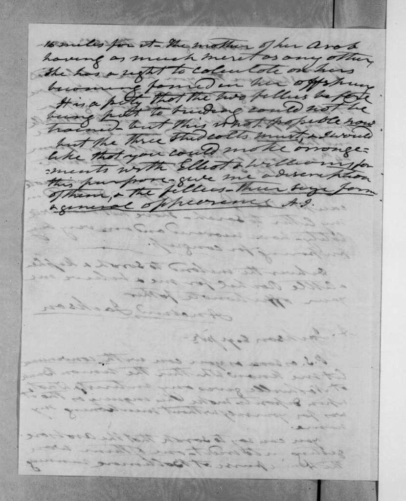 Andrew Jackson to Andrew Jackson, Jr., October 28, 1833