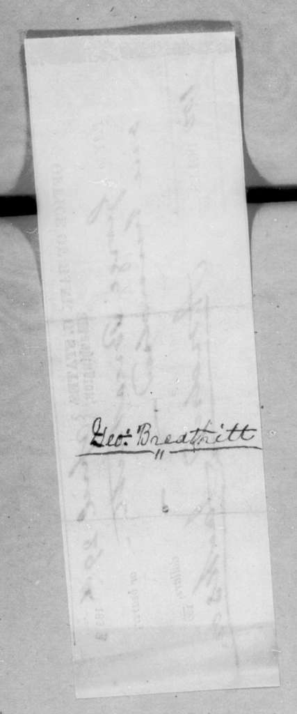 Andrew Jackson to George Breathitt, April 29, 1833