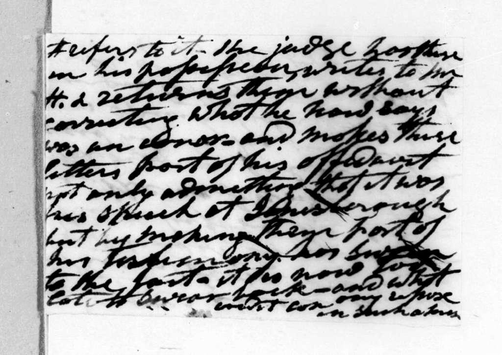 Andrew Jackson to H. L. White