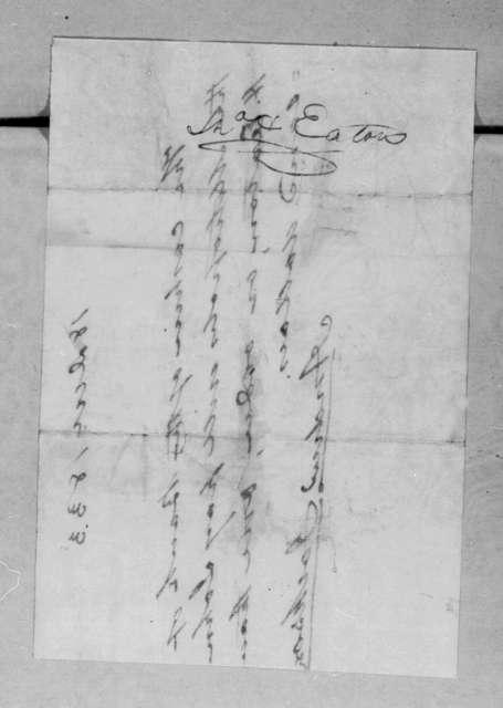 Andrew Jackson to Metropolis Bank, December 18, 1833