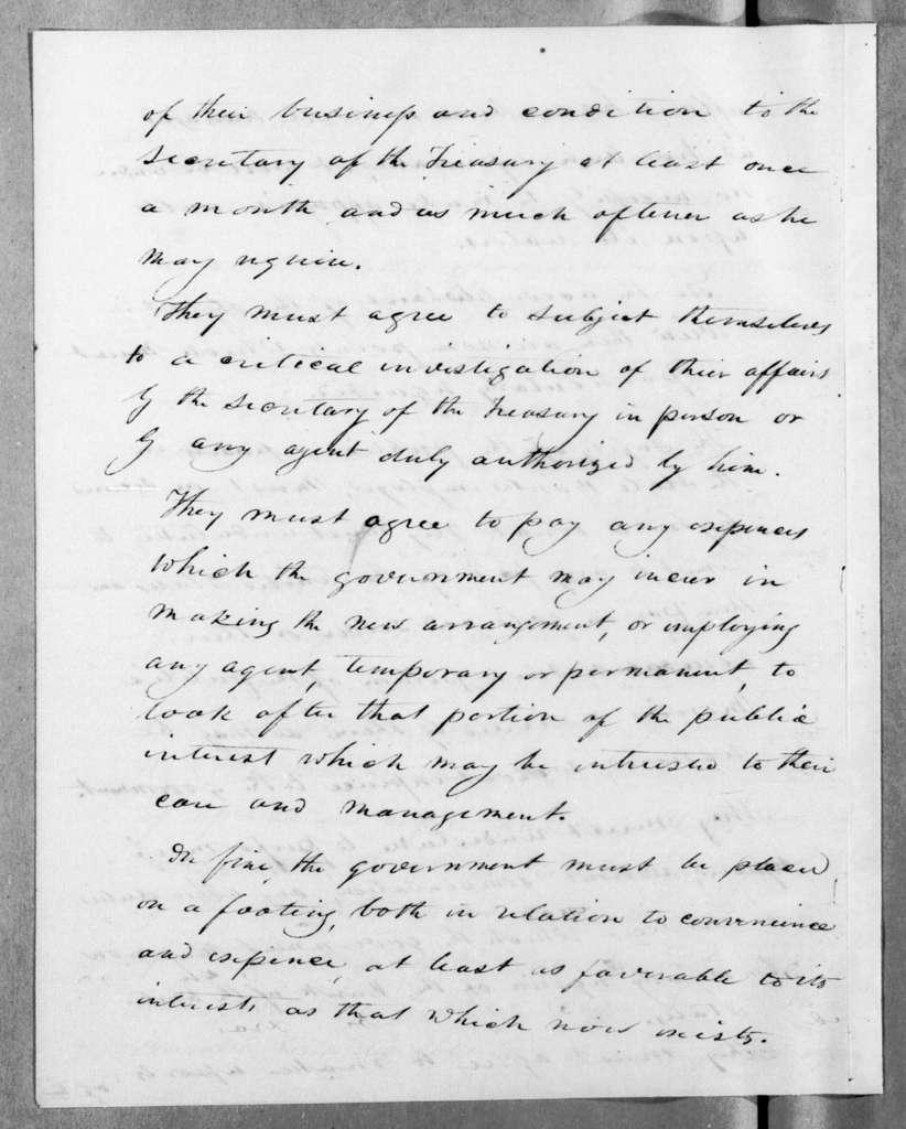 Andrew Jackson to William John Duane, June 26, 1833
