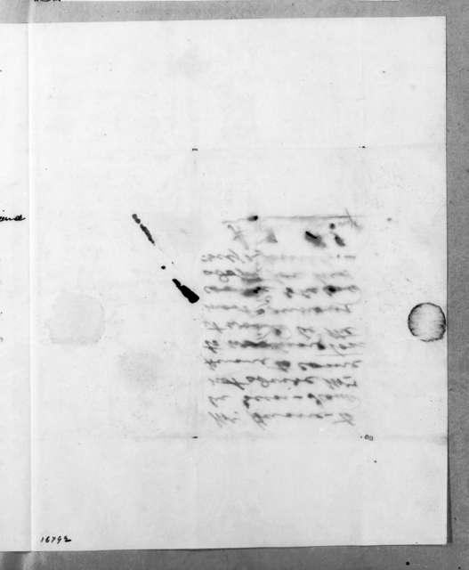 Ebenezer James Hume to Andrew Jackson, June 3, 1833