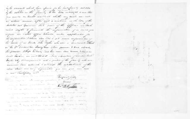 Edward H. Taylor to James Madison, June 5, 1833.
