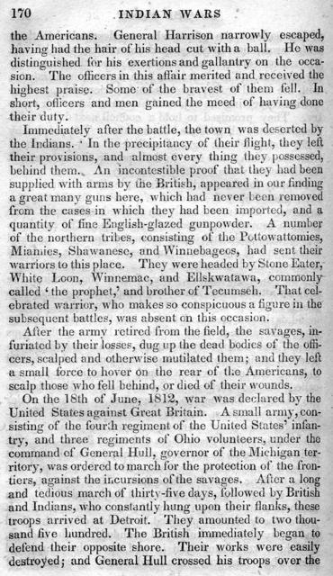 Indian wars of the West : containing biographical sketches of those pioneers who headed the western settlers in repelling the attacks of the savages, together with a view of the character, manners, monuments, and antiquities of the western Indians