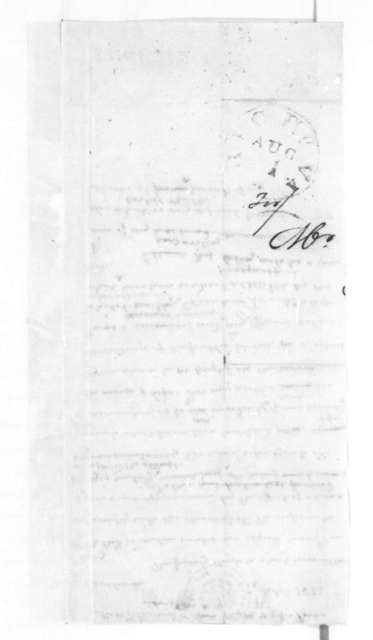 James Madison to Bushrod W. Clark, December 7, 1833. Also addressed to G. D. Parks.