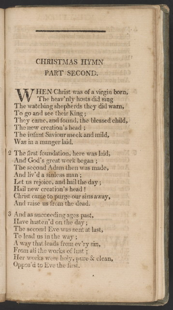 Shaker hymn book