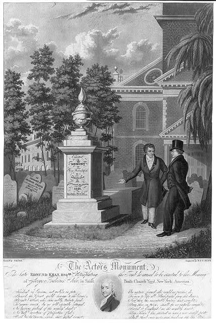 The actors monument / painted by Smith ; engraved by G. & C. Hunt.