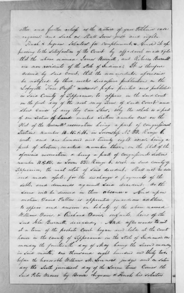 Thomas B. Brown to H. E. Hayward, August 10, 1833