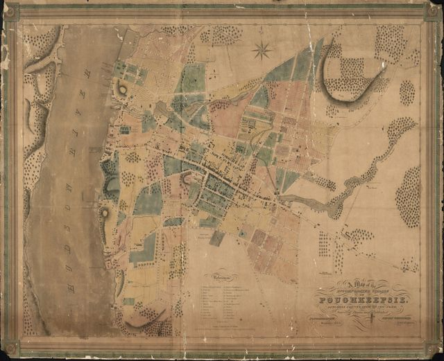 A map of the incorporated village of Poughkeepsie, Dutchess County, state of New York /