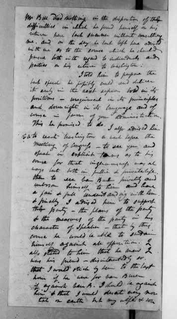 Alfred Balch to Andrew Jackson, October 30, 1834