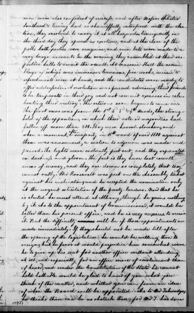 Cornelius Van Ness to John P. Van Ness, November 7, 1834