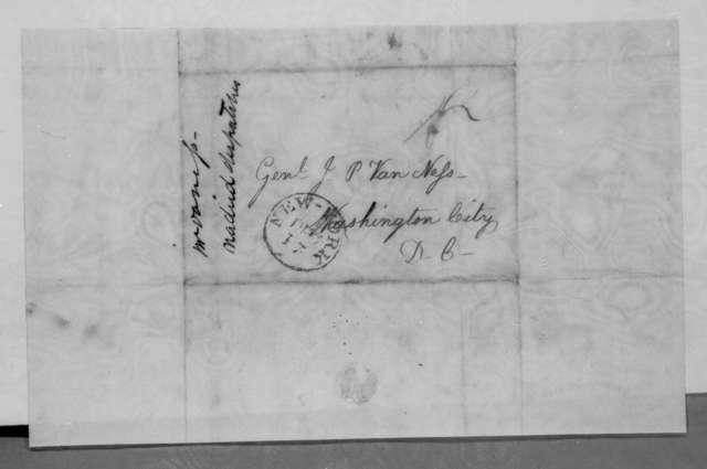Cornelius Van Ness to John Peter Van Ness, December 17, 1834