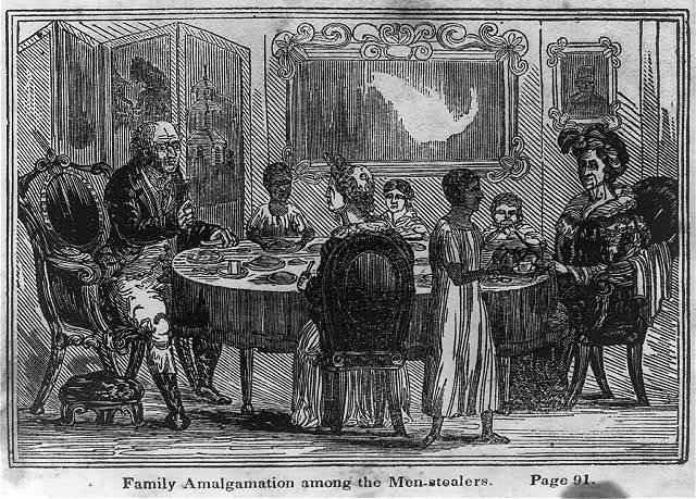 Family amalgamation among the men-stealers