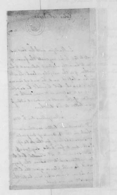 James Madison to Isaac Coles, October 3, 1834.