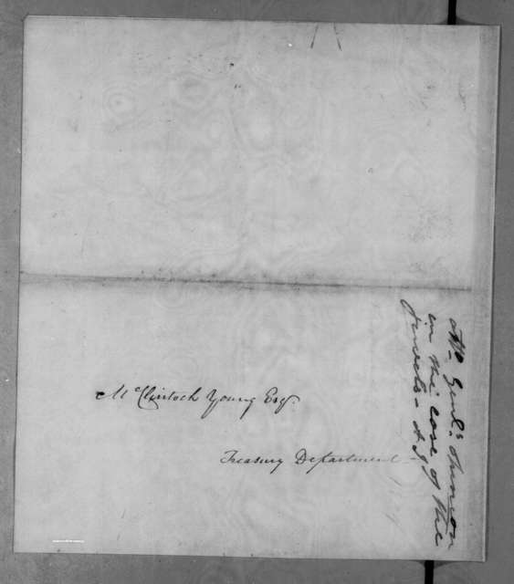 Richard I. Kegwater to McClintock Young, December 6, 1834