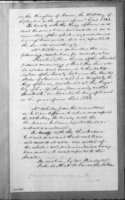 Senate, June 20, 1834