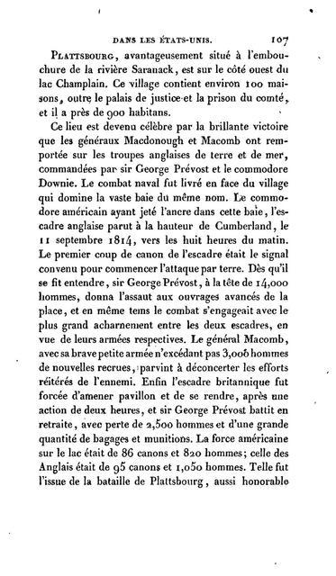 Voyage aux États-Unis d'Amérique, et description des mœurs, coutumes et usages de ses habitans.